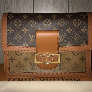 Louis Vuitton Dauphine Reverse Monogram MM